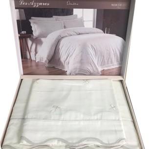 Постельное белье Maison Dor LES AZZURES хлопковый сатин кремовый евро
