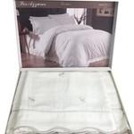 Постельное белье Maison Dor LES AZZURES хлопковый сатин кремово-бежевый евро, фото, фотография