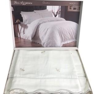 Постельное белье Maison Dor LES AZZURES хлопковый сатин кремово-бежевый евро
