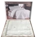 Постельное белье Maison Dor LES AZZURES хлопковый сатин кремово-фиолетовый евро, фото, фотография
