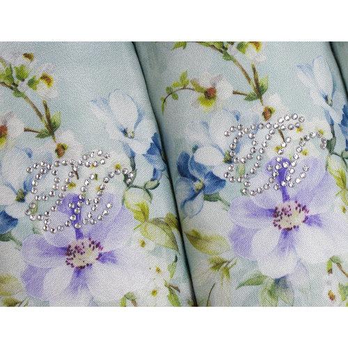 Подарочный набор полотенец-салфеток 30х50 см (2 шт.) Tivolyo Home ORNELIA хлопковая махра кремовый, фото, фотография