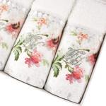 Подарочный набор полотенец-салфеток 30х50 см (2 шт.) Tivolyo Home NERO хлопковая махра, фото, фотография
