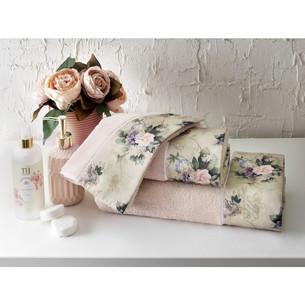 Подарочный набор полотенец-салфеток 30х50 см (2 шт.) Tivolyo Home BELISSA хлопковая махра