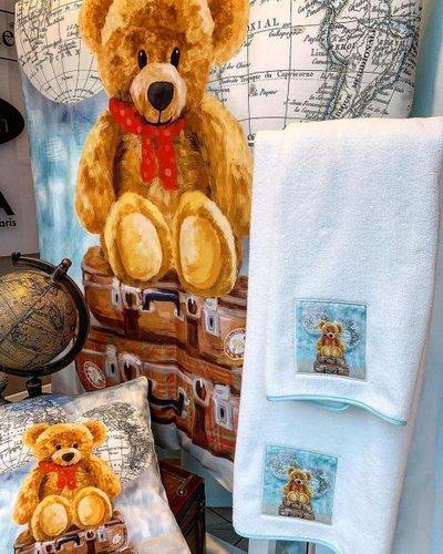 Подарочный набор детских полотенец Tivolyo Home MASHA хлопковая махра 50х90, 70х130, фото, фотография