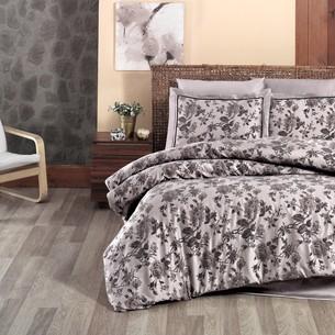 Постельное белье DO&CO AGORA хлопковый сатин-жаккард делюкс коричневый евро