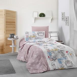 Детское постельное белье DO&CO BELINDA хлопковый ранфорс 1,5 спальный