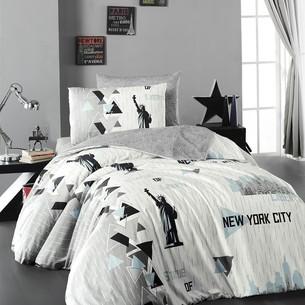 Детское постельное белье DO&CO NEW YORK хлопковый ранфорс 1,5 спальный