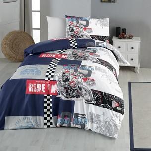 Детское постельное белье DO&CO LIVE FAST хлопковый ранфорс 1,5 спальный