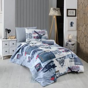 Детское постельное белье DO&CO AIR CRAFT хлопковый ранфорс 1,5 спальный