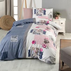 Детское постельное белье DO&CO WOOFY хлопковый ранфорс 1,5 спальный