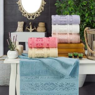Набор полотенец для ванной 6 шт. Philippus JUPITER бамбуковая махра 70х140