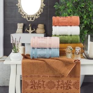 Набор полотенец для ванной 6 шт. Philippus EFES бамбуковая махра 70х140