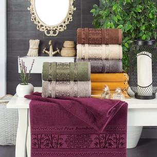Набор полотенец для ванной 6 шт. Philippus MYKANOS бамбуковая махра 70х140