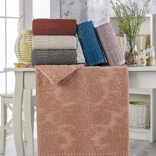 Набор полотенец для ванной 6 шт. Philippus ANKA хлопковая махра 70х140