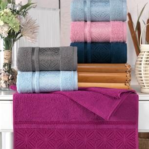 Набор полотенец для ванной 6 шт. Philippus RIGA хлопковая махра 70х140