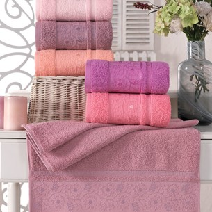 Набор полотенец для ванной 6 шт. Philippus VAHRAN хлопковая махра 70х140