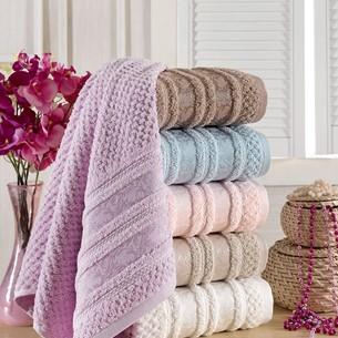 Набор полотенец для ванной 6 шт. Philippus ZENIT хлопковая махра 70х140