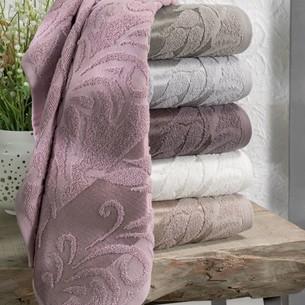 Набор полотенец для ванной 6 шт. Two Dolphins BASAK хлопковая махра 70х140