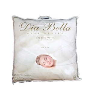 Подушка Dia Bella GOLD гусиный пух, гусиное перо 70х70