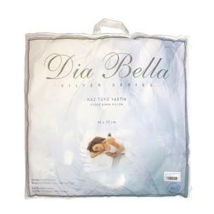 Подушка Dia Bella SILVER гусиный пух, гусиное перо 70х70