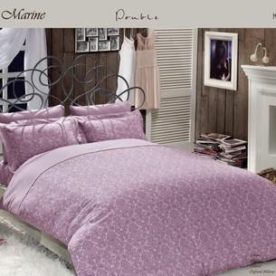 Постельное белье Maison Dor ROSEMARINE хлопковый сатин фиолетовый семейный