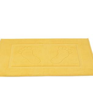 Коврик для ванной Karna GREN махра хлопок жёлтый 50х70