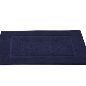 Коврик для ванной Karna GREN махра хлопок синий 50х70