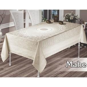 Скатерть прямоугольная Maison Royale MAHE жаккард кремовый 160х300