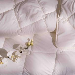 Одеяло ТАС NATUREL микроволокно/хлопок кремовый 195х215