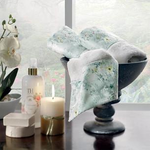 Подарочный набор полотенец-салфеток 30х50 см (2 шт.) Tivolyo Home POLINA хлопковая махра кремовый